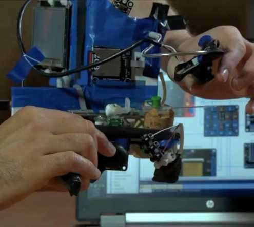 Robotic IV insertion device means less pain for kids