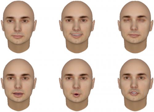Robot's face determines user comfort