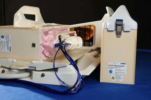 Robots from space lead to 1-stop breast cancer diagnosis treatment