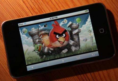 """Rovio, the makers of the hugely popular mobile game """"Angry Birds"""", announced a 57-percent rise in net profit last year"""