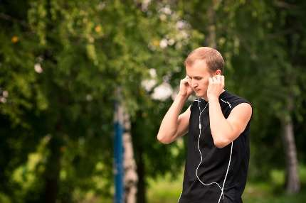 Running and rehabilitation improved with the right beat