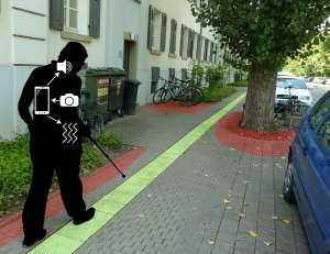 Safe Navigation for Visually Impaired Persons