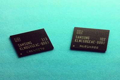 Samsung now mass producing industry's fastest embedded memory