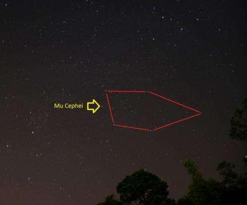 Seeing Red: Hunting Herschel's Garnet Star