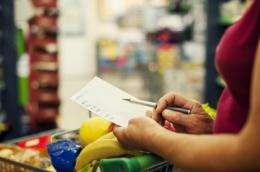 Shopping to a list aids weight loss