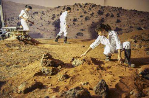 Simulating Mars on Earth