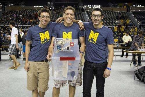 Smart recycle bin wins record-breaking MHacks hackathon