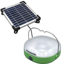 Solar lantern for people living without electricity