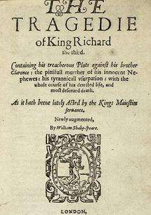 Source Of Shakespeares Inaccurate Richard Iii Portrayal