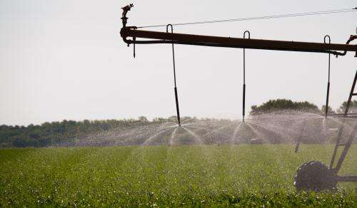 Study forecasts future water levels of crucial agricultural aquifer