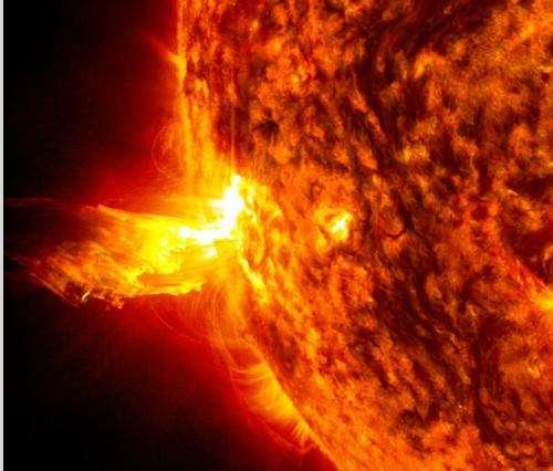 Sun emits a solstice CME