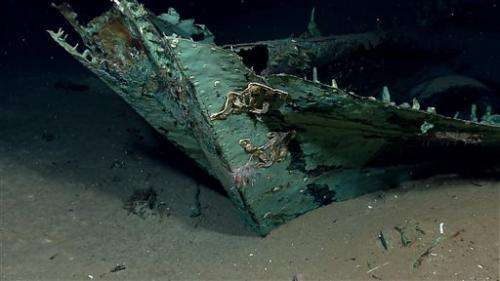 Team examining Gulf shipwreck finds 2 other wrecks