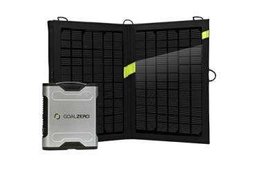 Tech review: Solar recharging for big gadgets, on the go