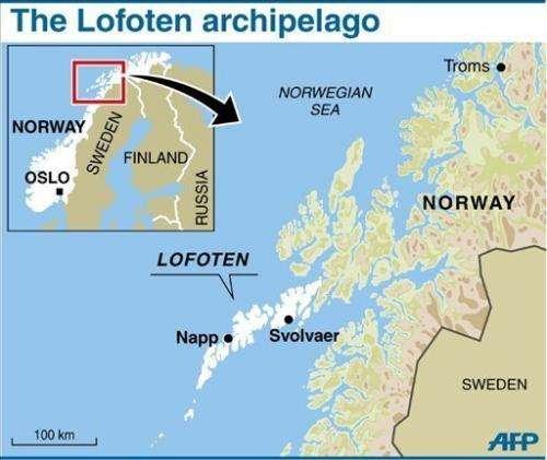 The Lofoten archipelago