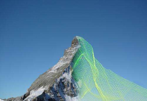 The Matterhorn like you've never seen it