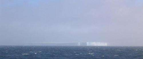 The sounds of science – melting of iceberg creates surprising ocean din