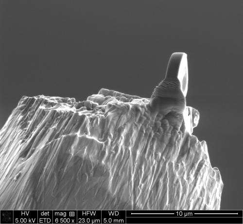 The world's sharpest X-ray beam shines at DESY