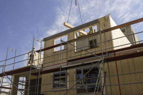 Timber buildings growing in a city near you