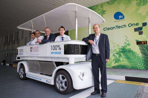Trials for Singapore's first driverless vehicle