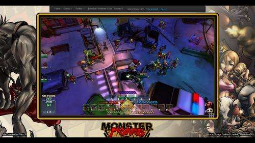Truly a web game, Monster Madness is unveiled
