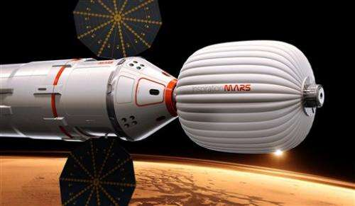 Tycoon proposes to send married couple around Mars