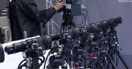 """Japan's NHK unveils multi-camera system for """"bullet-time"""" slow motion replays"""