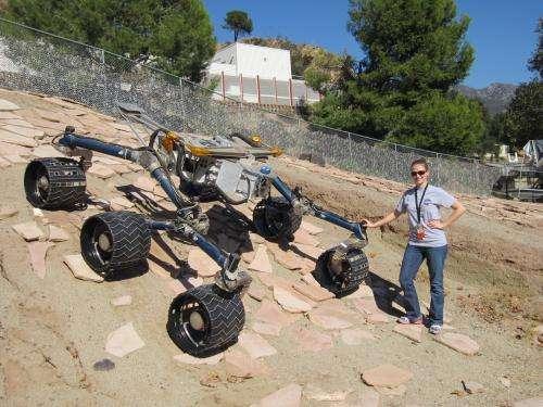 UA Student Finds 'Hawaiian Beach' Sand on Mars