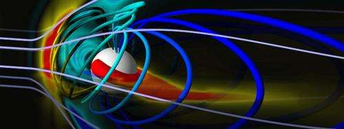 U-M space weather model picked to improve US warning system