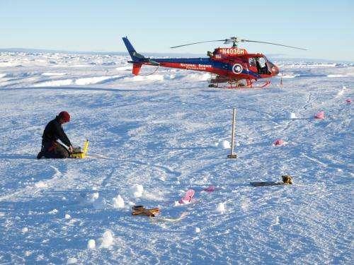 Underlying ocean melts ice shelf, speeds up glacier movement