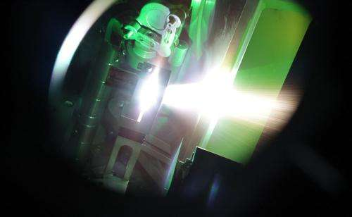 Using laser-driven neutrons to stop nuclear smugglers