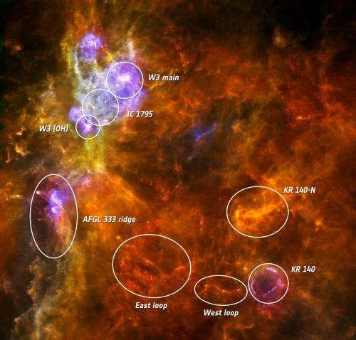 Hunting high-mass stars with Herschel