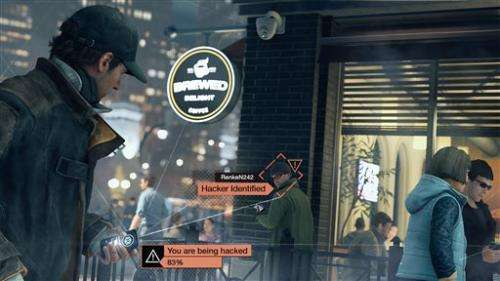 'Watch Dogs' video game a sign of the times