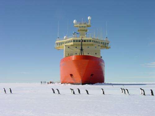 West Antarctica ice sheet existed 20 million years earlier than previously thought