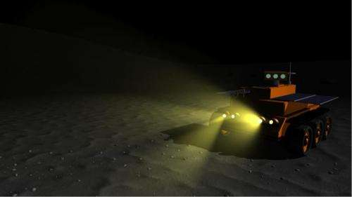Working the night shift on the moon