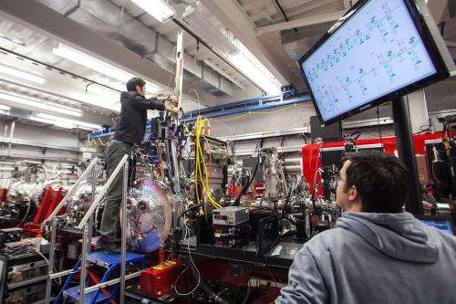 X-ray laser brings cellular messengers into focus