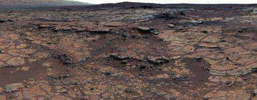 Yellowknife Bay Formation on Mars