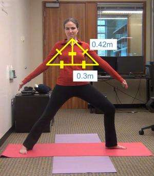 Yoga accessible for the blind with new Microsoft Kinect-based program