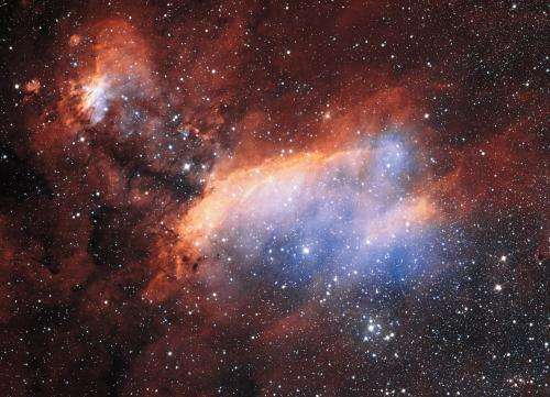 Young stars cooking in the Prawn Nebula