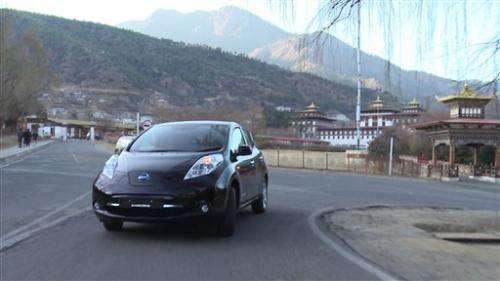 Bhutan, Nissan partner on electric cars (Update)
