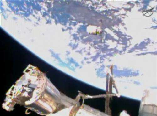 Christmas delivery finally for space station
