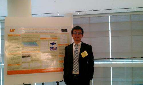Engineering student developing traffic forecasts