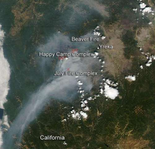 Fires continue in Northern California