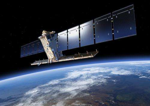 First Copernicus satellite at launch site