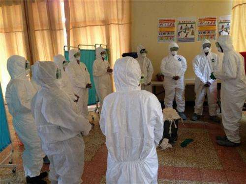 From Ebola front line: Teaching how to stay safe