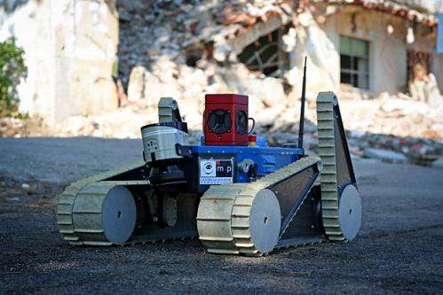 Game technology can make emergency robots easier to control