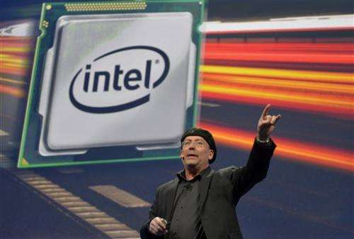 Intel 4Q net income rises 6 pct