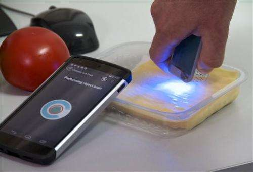 Israeli's chemical scanner could change shopping