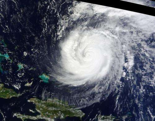 Major Hurricane Gonzalo gives an 'eye-opening' performance