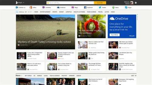 Microsoft revamps MSN to flow across devices