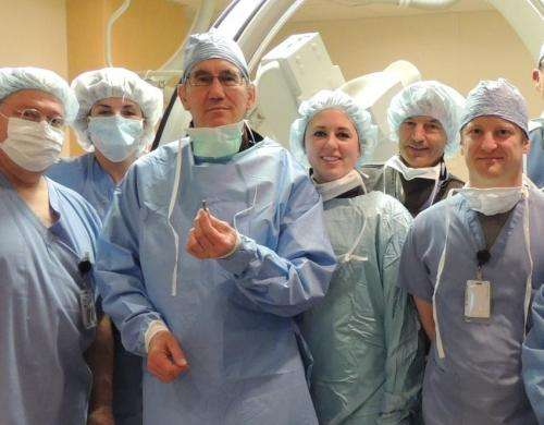 Minneapolis Heart Institute Foundation implants its 1st world's smallest cardiac pacemaker